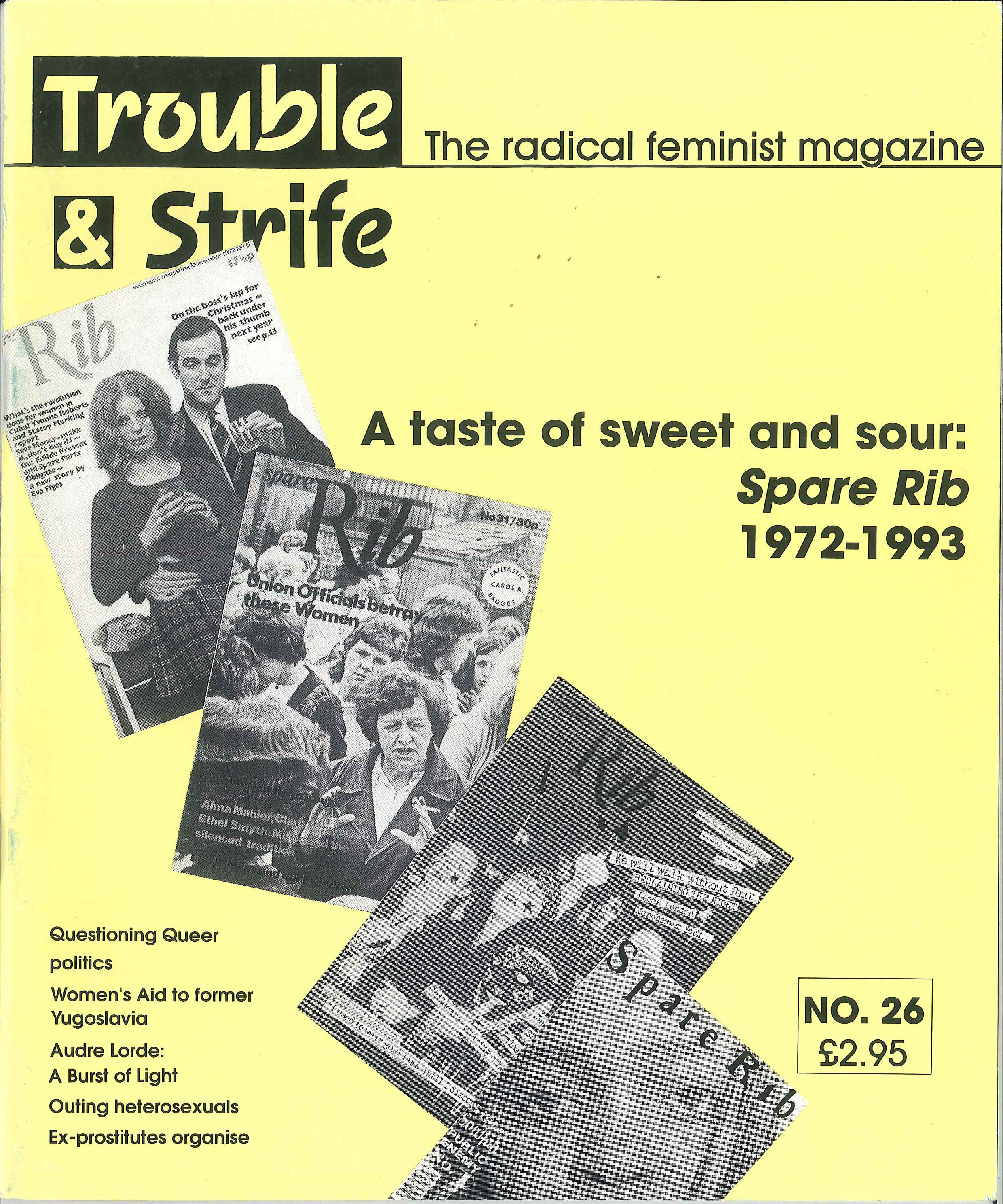 Scan of cover of issue 26