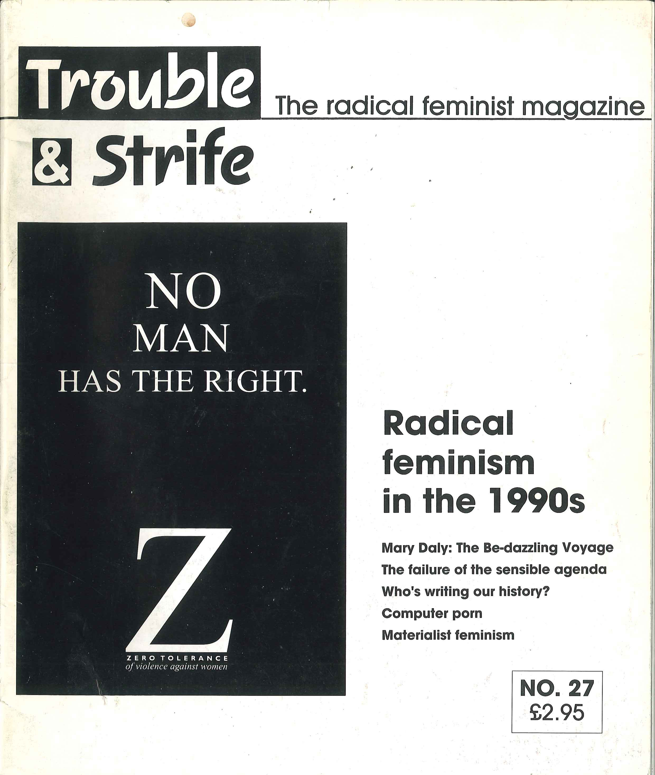 Scan of cover of issue 27
