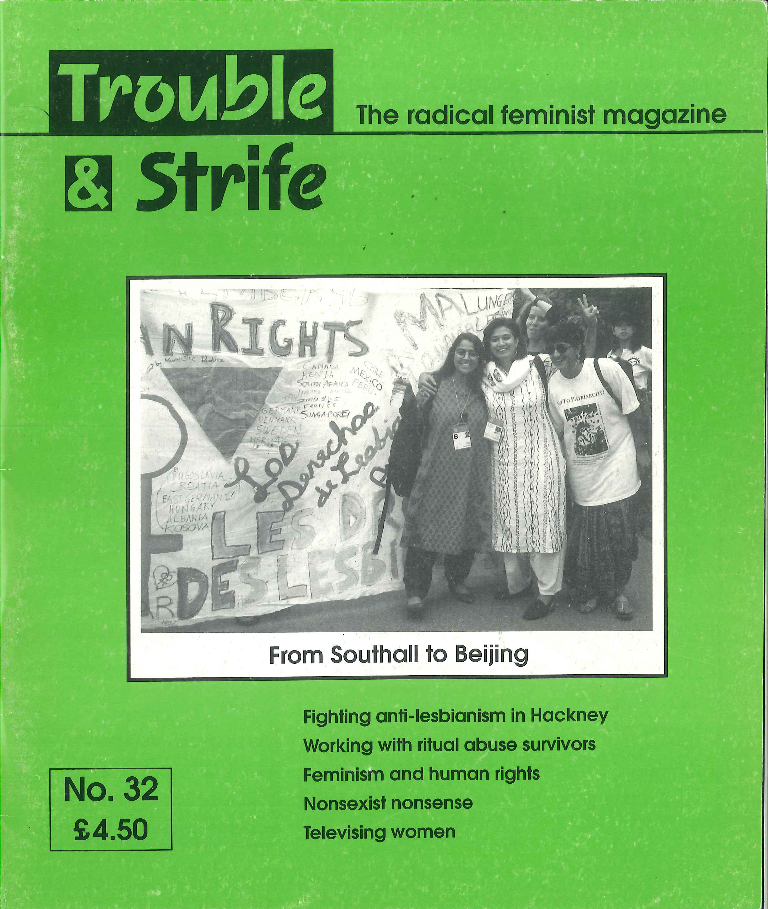 Scan of cover of issue 32