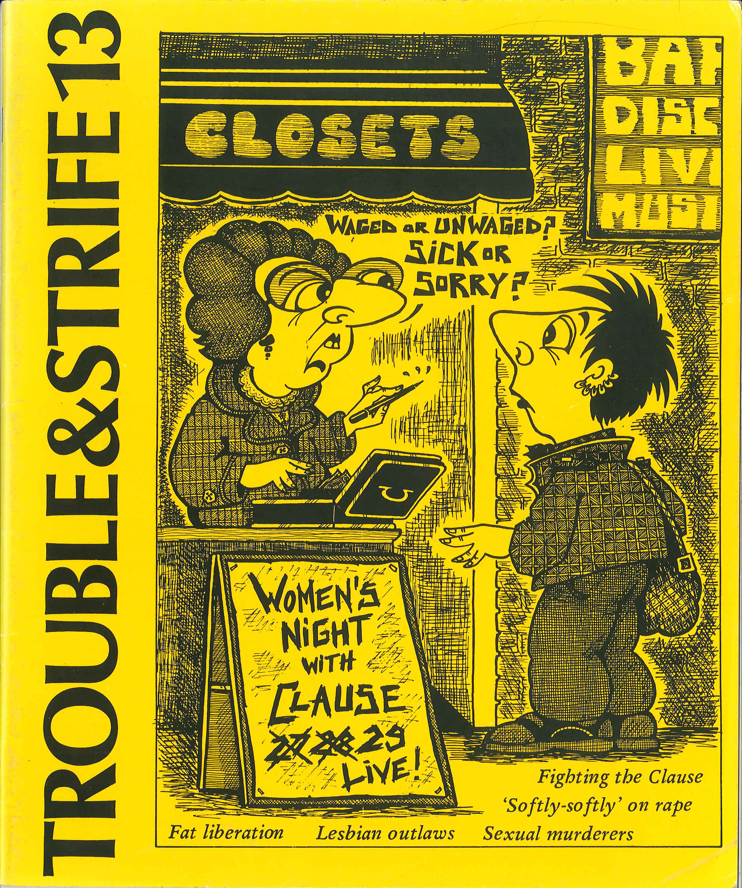 Scan of cover of issue 13