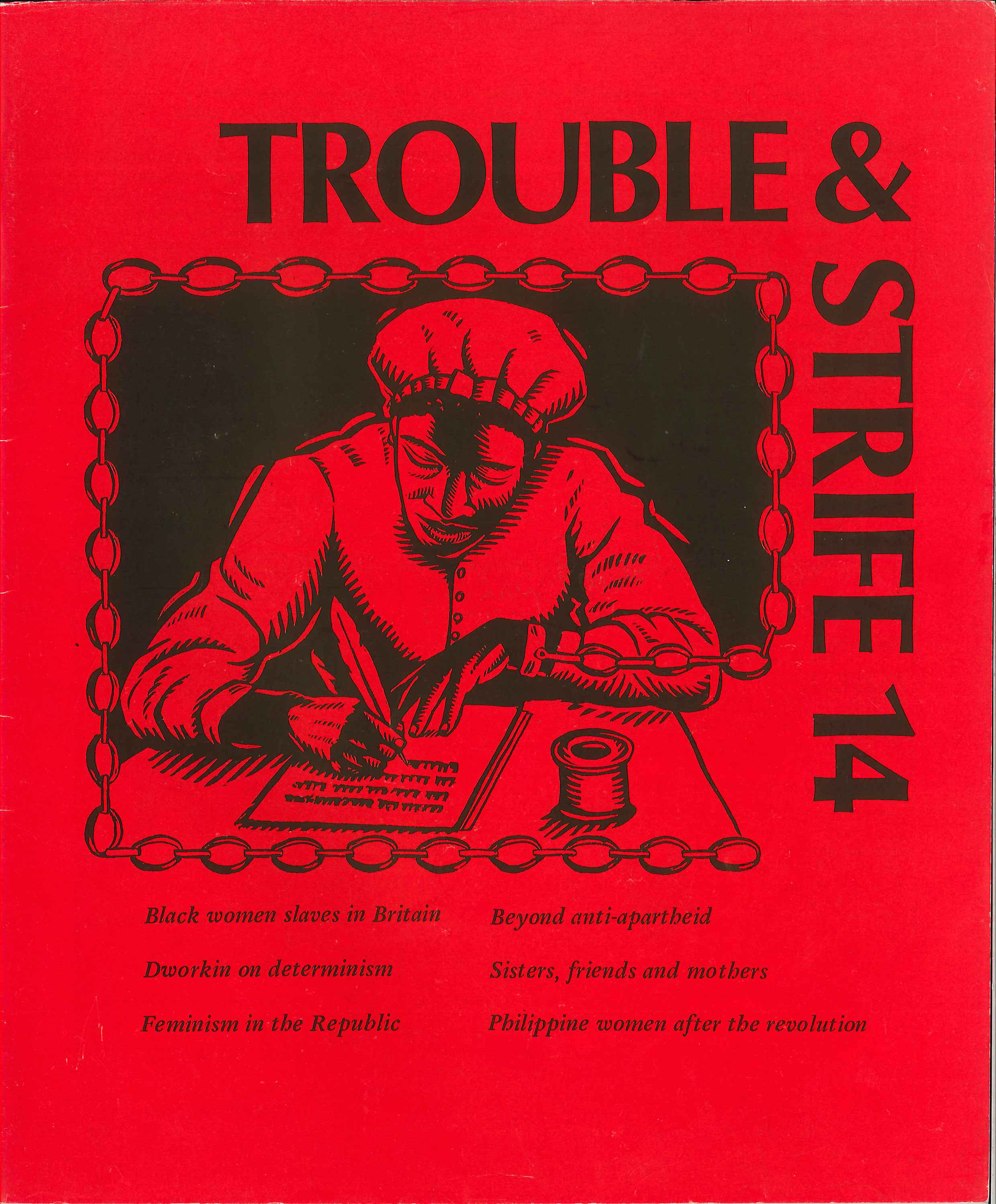 Scan of cover of Issue 14