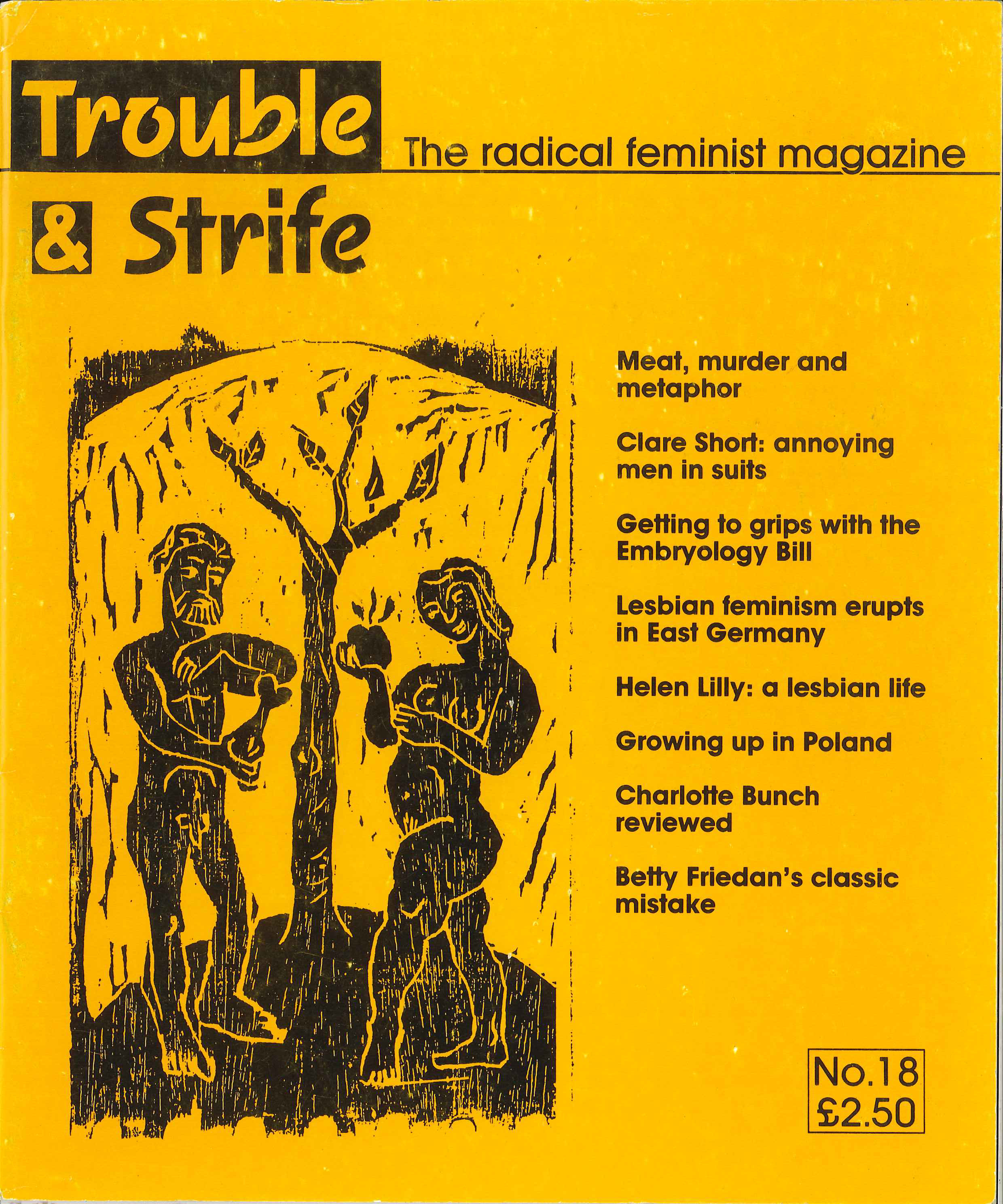 Scan of cover of issue 18