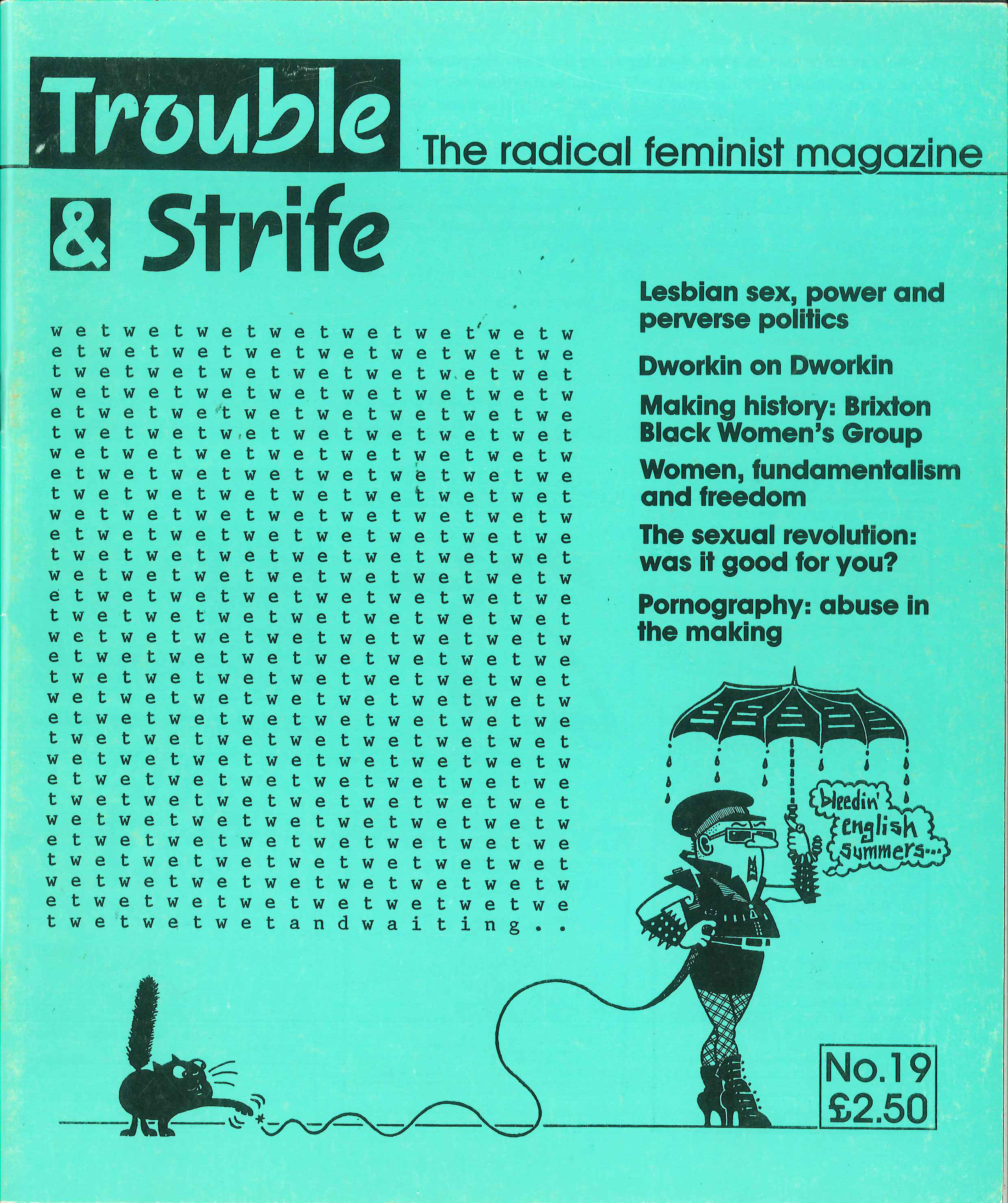 Scan of cover of issue 19