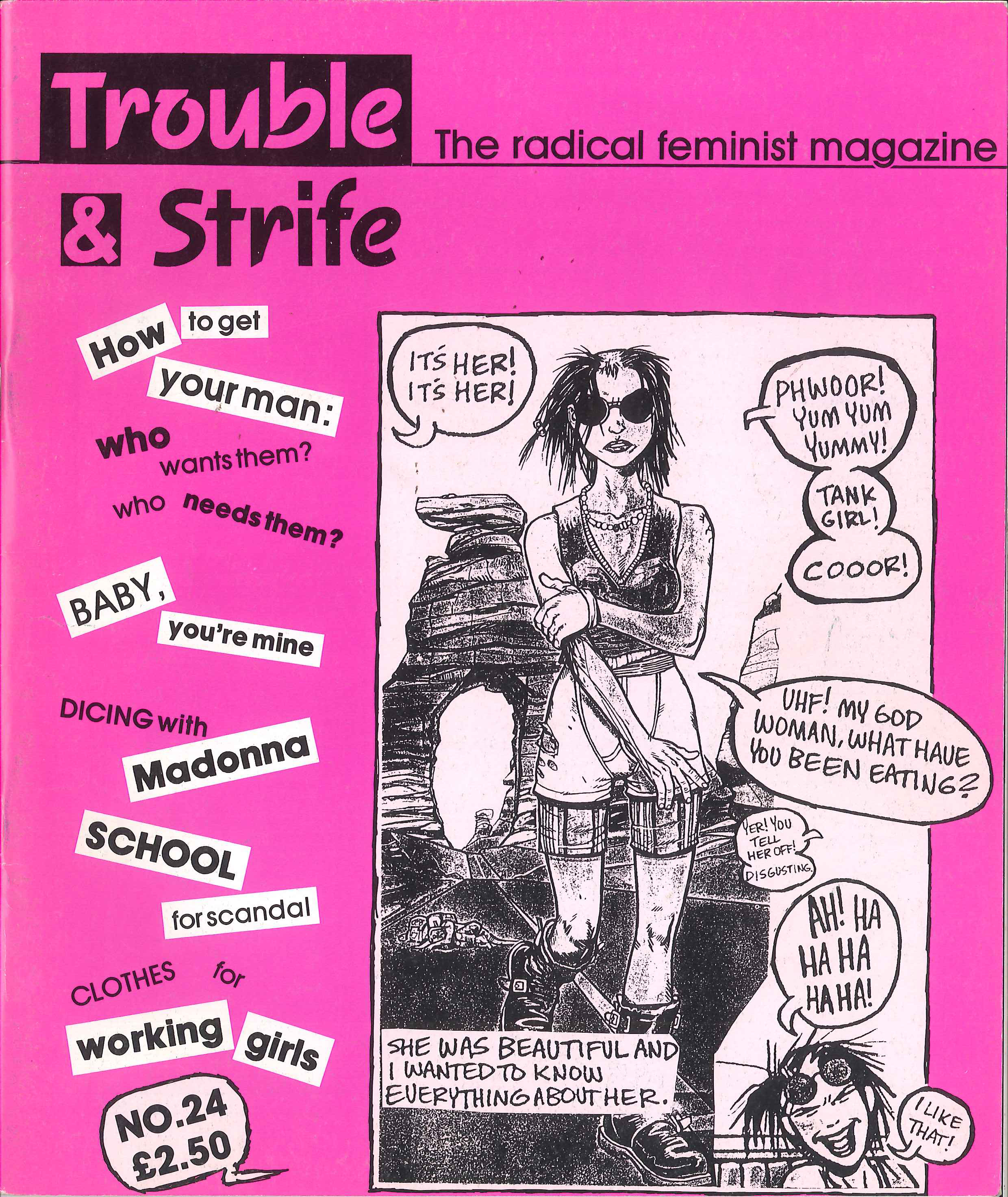 Scan of cover of issue 24