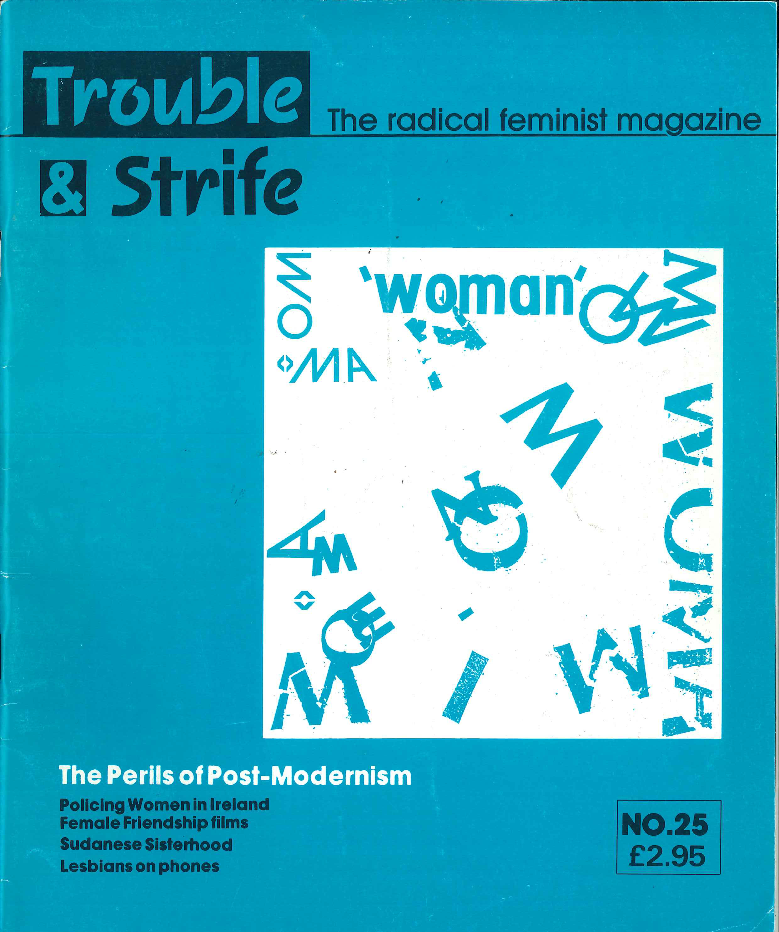 Scan of cover of issue 25