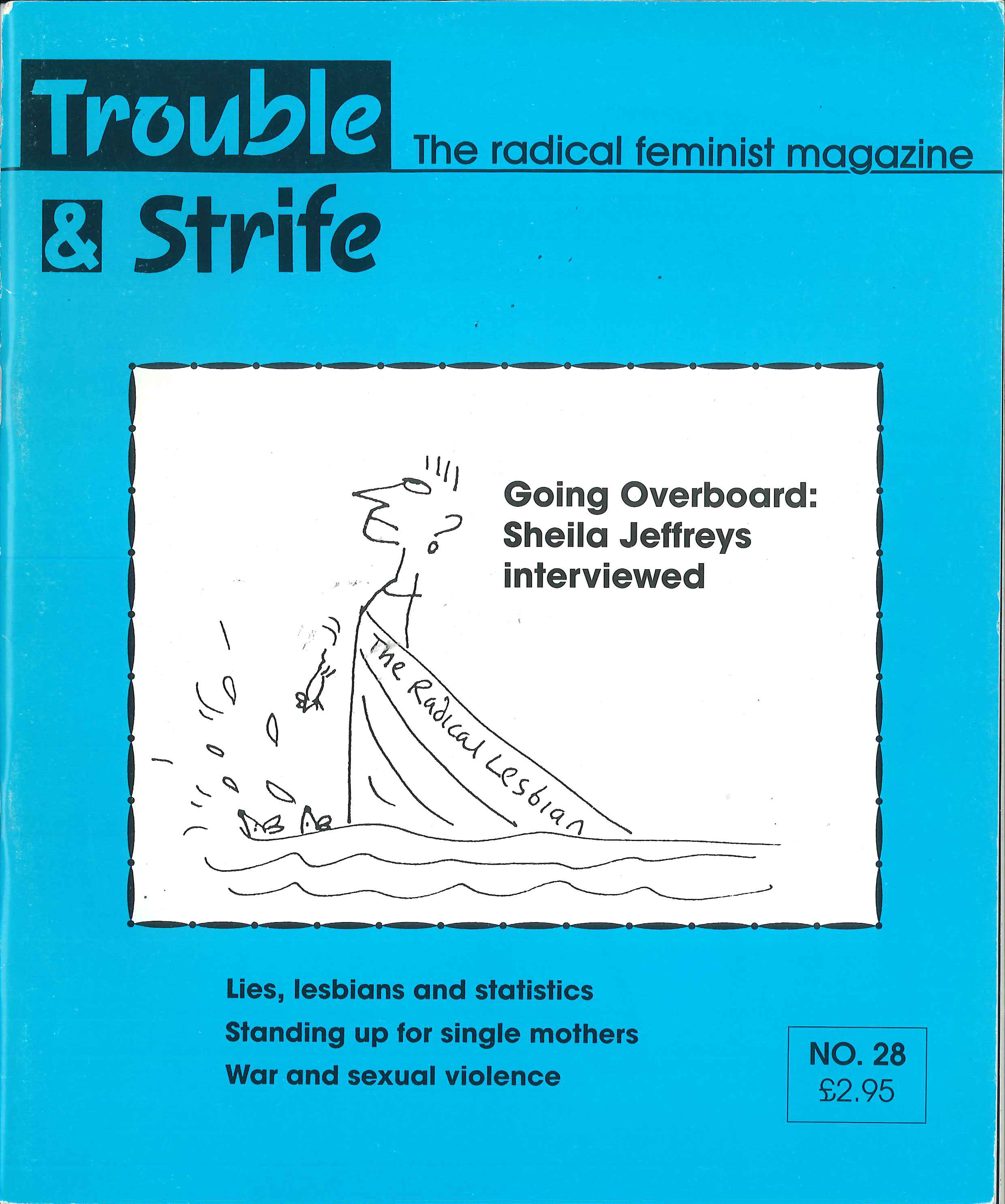 Scan of cover of issue 28