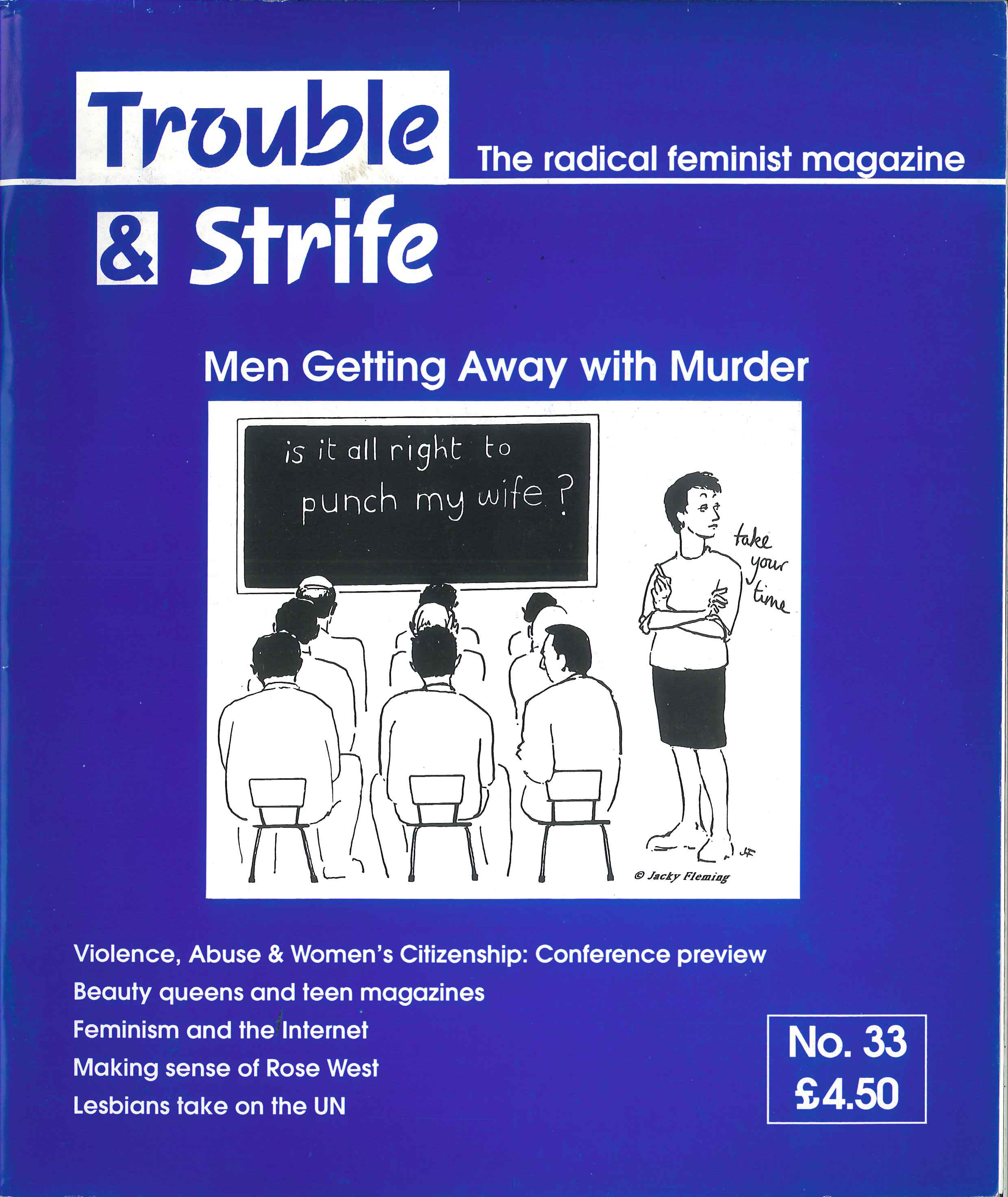 Scan of cover of issue 33