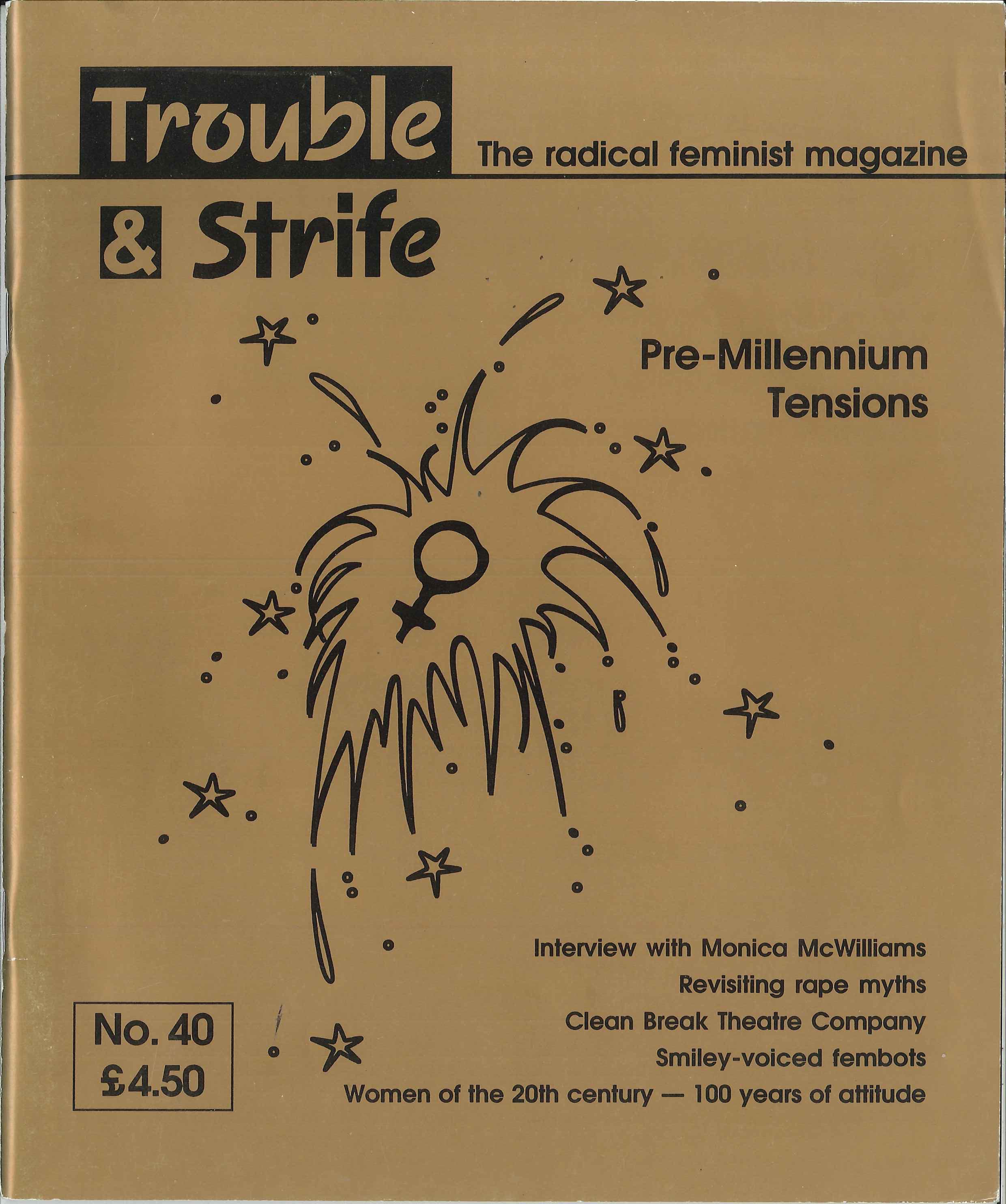 Scan of cover of issue 40